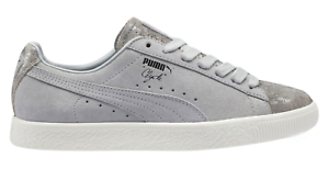 quality design e89ca 9e464 Details about PUMA Clyde Frosted Women's Rock Ridge Size 9 Glacier Gray  Sneakers 36578902