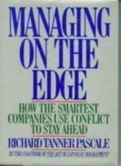 Managing on the Edge By Richard T. Pascale