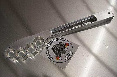 """Side Shifter Handle Gasser Jockey Rat Hot Rod Drag Lever Bobber Chopper Knob 13"""""""