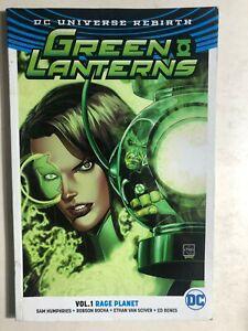 GREEN LANTERN volume 1 Rage Planet. (2017) DC Comics TPB 1st G/VG