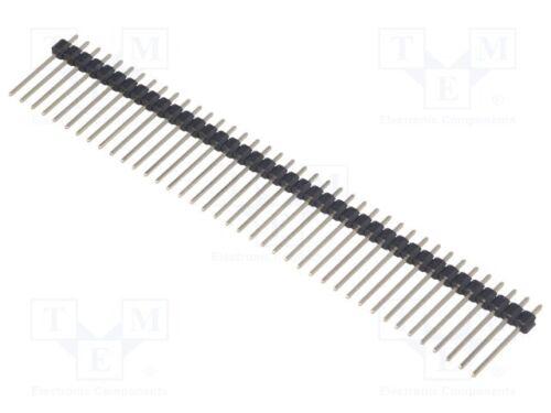 Stiftleiste; Stift; männlich; PIN:40; gerade; 2,54mm; THT; 1x40 10 st