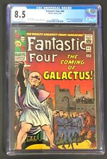 Fantastic Four #48 1966 CGC 8.5 1st Appearance of Silver Surfer & Galactus