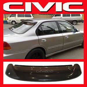Jdm 1996 2000 honda civic sedan ek 4 door rear roof window for 2000 honda civic rear window visor