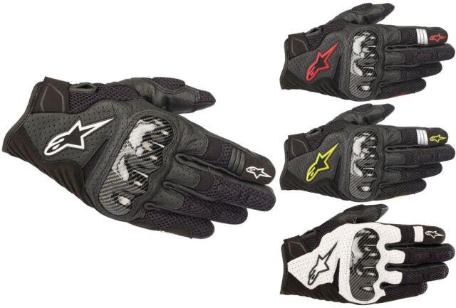 Alpinestars SMX 1 Air V2 Motorradhandschuhe Sommer Sport Touring Handschuhe