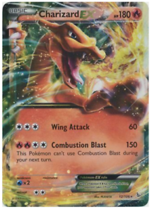 ULTRA RARE NM//M EVOLUTIONS POKEMON Charizard EX 12//106