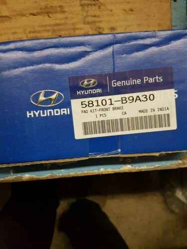 58101 B9A30 GENUINE NEW HYUNDAI i10 MK2 FRONT BRAKE PADS