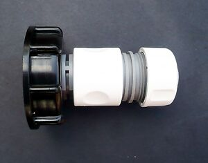 IBC-ADAPTER-to-3-4-034-Snap-On-Push-Fit-Connector-c-w-3-4-034-Female-Hose-Connector