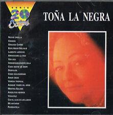 Tona La Negra 20 Excitos Las Estrellas De La Hora Azul Bolero Rumba RCA CD 1988