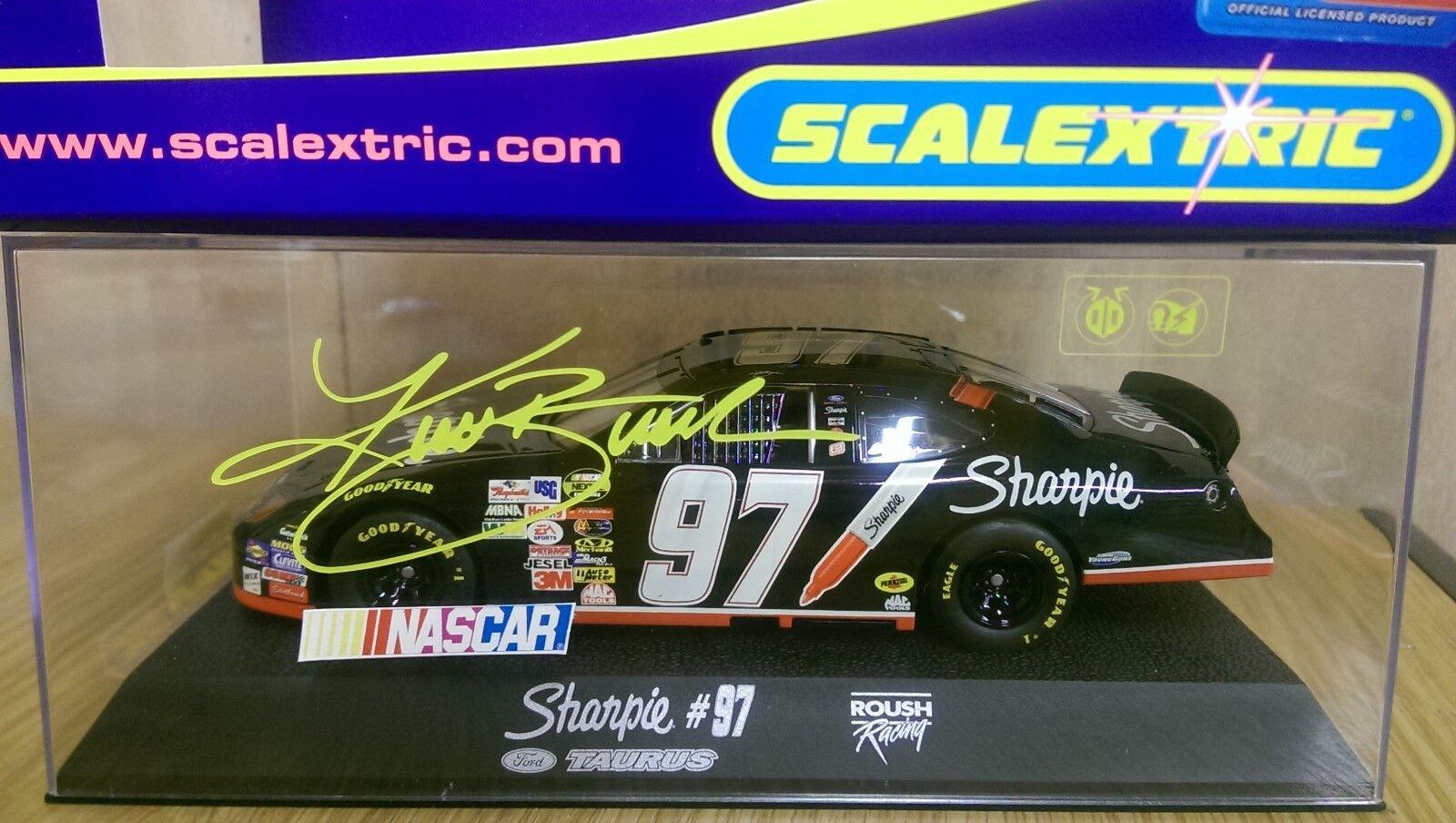 Cadeau spécial à vous spécial Scalextric C2595 C2595 C2595 Roush Racing Ford Taurus Kurt Busch Nº 97 53afe0