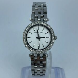 MICHAEL-KORS-SILVER-TONE-STAINLESS-STEEL-WOMENS-WATCH-Case-26mm-MK3294