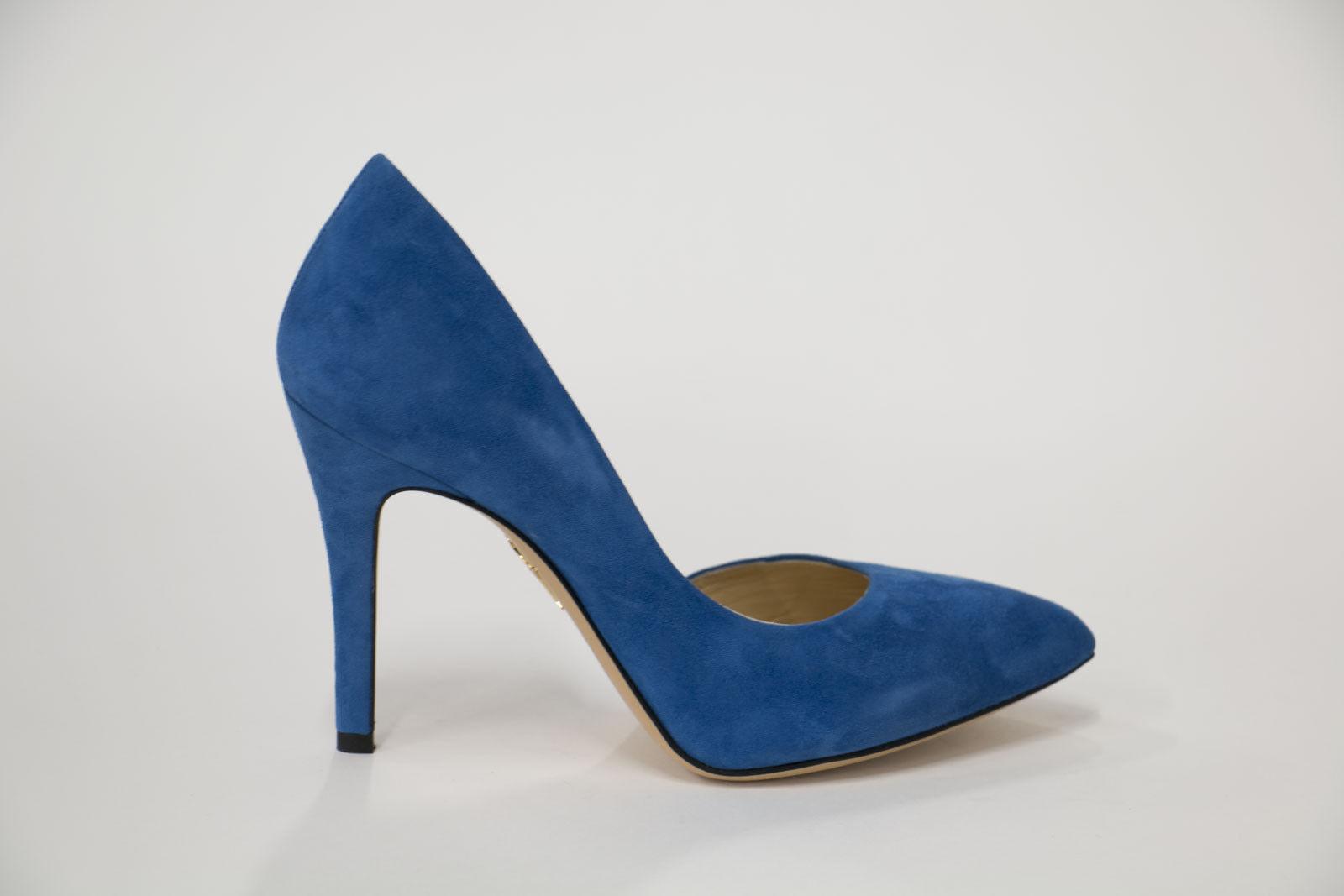 Charlotte Olympia  La Signora è un Vamp Cobalt blu Sue Pump SZ 35.5 EU (5.5 US)  esclusivo