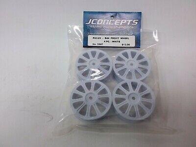 "Whi JConcepts 3376W 12mm Hex Mono 2.2 /""Slim/"" Front Wheels 4 B6//RB6//SRX2//YZ2"