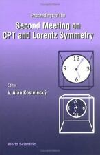 Cpt and Lorentz Symmetry: Proceedings of the Second Meeting Held Bloomington, US
