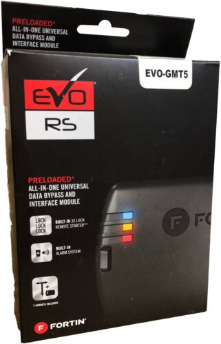 Fortin EVO-GMT5 Immobilizer Bypass Remote Start Interface Cadillac Chevy GMC