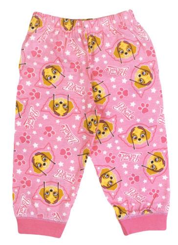 Girls Paw Patrol Official Pyjamas Set 100/% Cotton UK