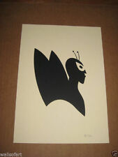 OLLY MOSS PAPERCUT SILHOUETTES VENTURE BROS *RARE EDITION OF 20* MONDO POP ART