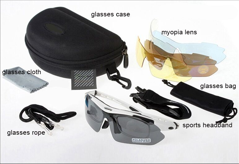 SHOOTING GLASSES with change out lenses - FAST SHIP SHIP FAST 901721
