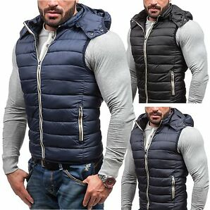BOLF S-West 2233 Herren Weste ÜBodywarmer Jacke Vest Outdoor Unifarben 4D4 Men