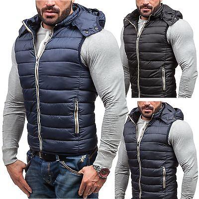 BOLF S-West 2233 Herren Weste ÜBodywarmer Jacke Vest Outdoor Unifarben 4D4 Men