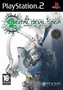 Shin-Megami-Tensei-Digital-Devil-Saga-For-PAL-PS2-New-amp-Sealed