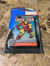 Disney D-Tech Iron Man Marvel Tony Stark Clip Case & Screen Guard iPhone 4/4S