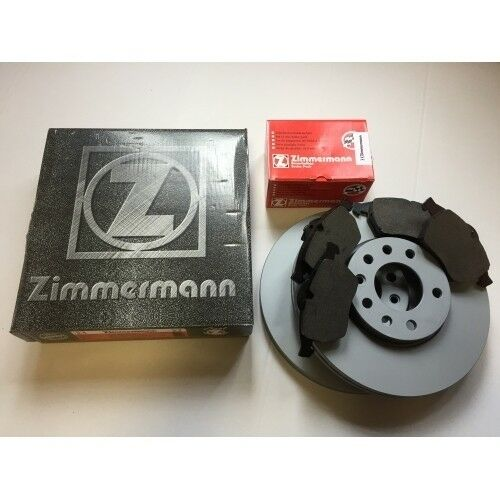 Zimmermann Bremsen Set Bremsscheiben Bremsbeläge Klötze Opel Corsa D Vorderachse