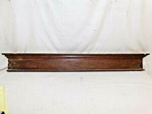 1890/'s Antique Wooden DOOR PEDIMENT Lintel Header VICTORIAN Style Maple ORNATE