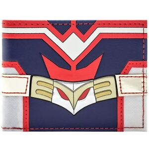 NEW-OFFICIAL-MY-HERO-ACADEMIA-ALL-MIGHT-RED-amp-BLUE-SUIT-ID-amp-CARD-BI-FOLD-WALLET
