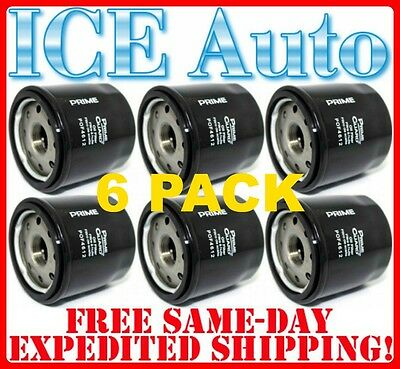 Fram, Wix, AC Delco 6 PACK Prime Guard Premium Engine Oil Filter $2.89 each