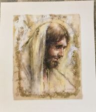 """""""Jesus"""" by Tom DuBois - Giclee on Paper with Gold Foil Limited Edition Print"""