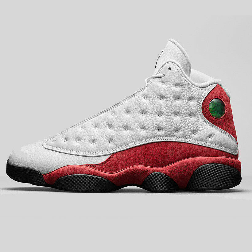 2016 Nike Air Jordan 13 XIII size 13 Chicago. White Red. 414571-122. playoff