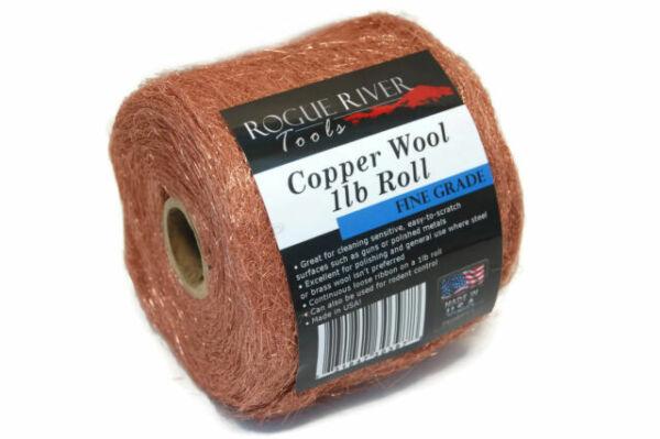Coarse Grade Aluminum Wool Roll by Rogue River Tools 1lb