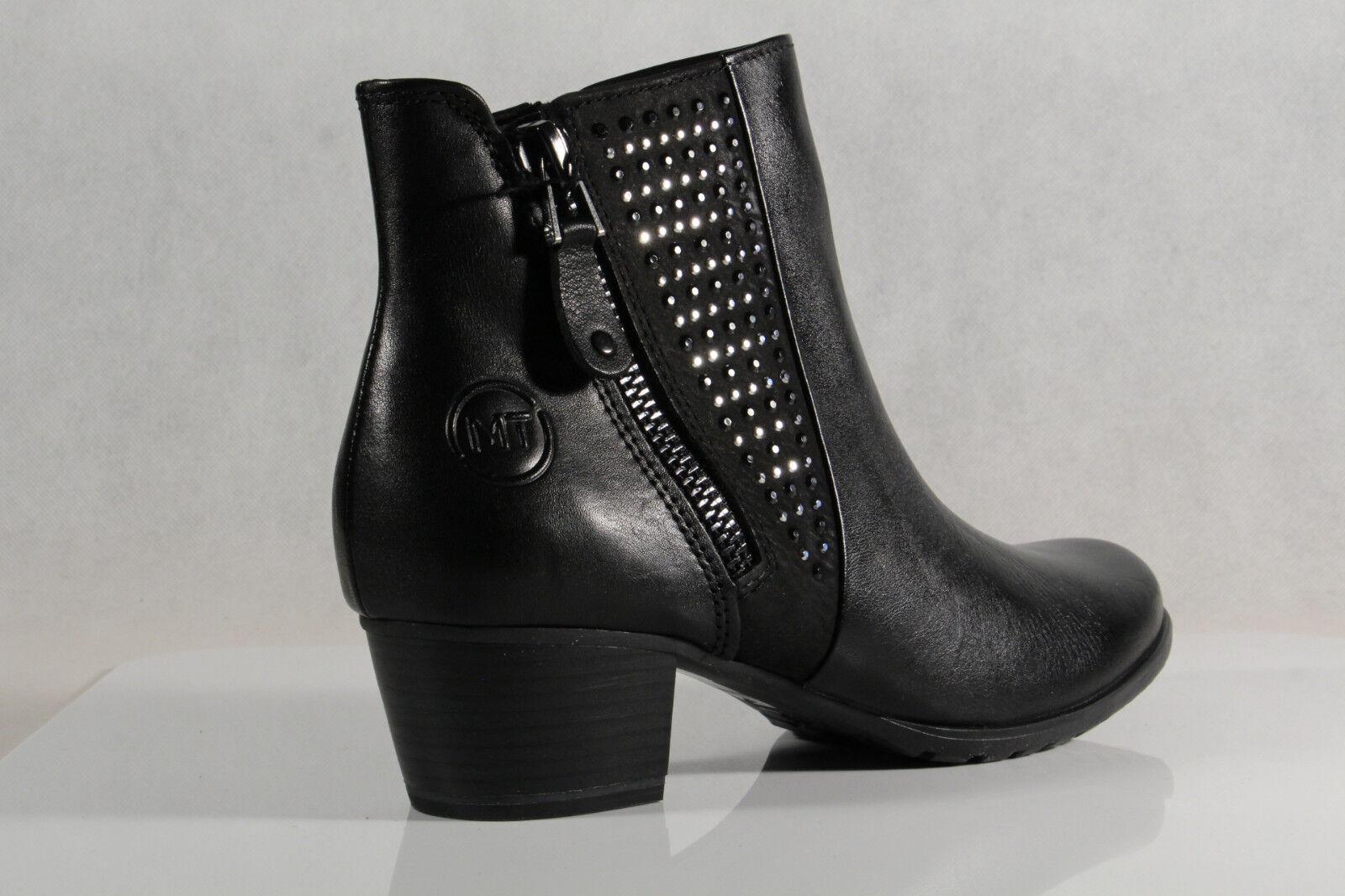 Los zapatos más populares para hombres y mujeres Marco Forrado, Tozzi Botas, Botines, Negro Ligero Forrado, Marco 25368 Cuero Aut. NUEVO e3820e