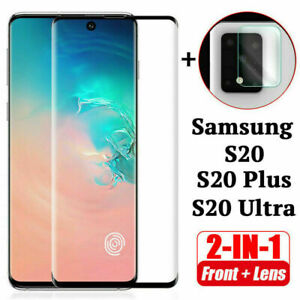 Fuer-Samsung-Galaxy-S20-Ultra-Plus-Tempered-Glass-amp-Camera-Lens-Screen-Protector