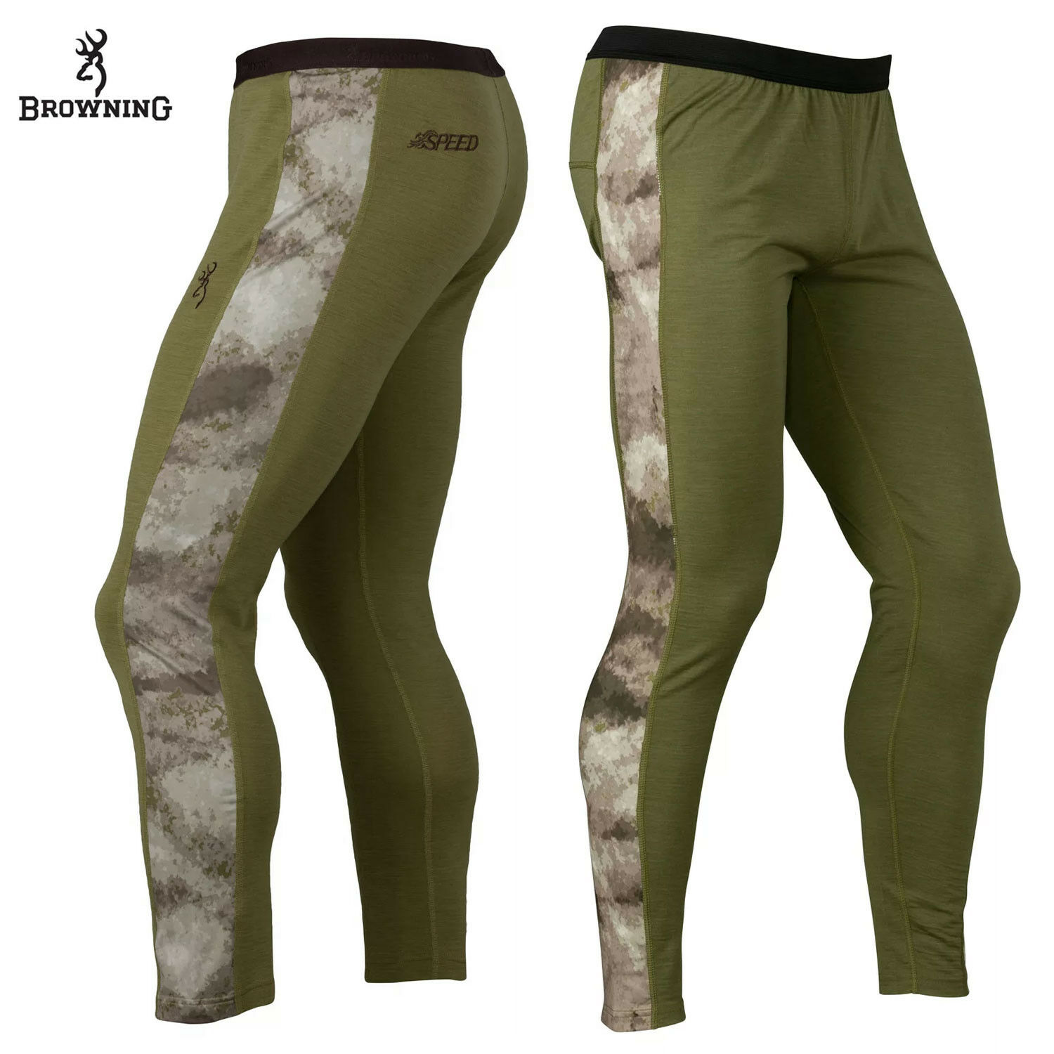 Browning Hell's Canyon Speed MHS Baselayer Pant  (L)- ATACS AU  the best online store offer