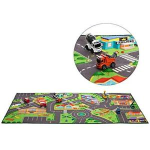 Toy Mat Hot Wheels Community Play Rug For Matchbox Cars 36 X 72