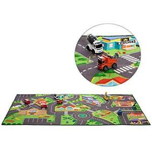 Toy Mat Hot Wheels Community Play Rug For Matchbox Cars 36 X 72