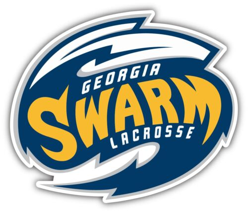 Georgia Swarm NLL Lacrosse Car Bumper Locker Window Sticker Decal