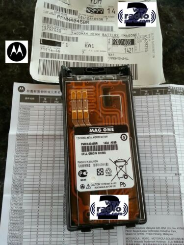 PR860 VHF UHF Radio HT1550 HT750 New Real OEM Motorola Battery for HT1250 LS