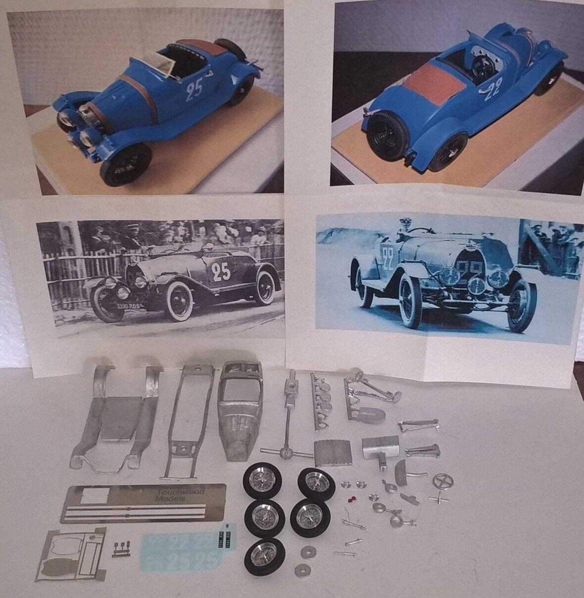 marca en liquidación de venta Bugatti T40 Le Mans 1930  25     1931  22 1 43 kit montaggio RARE vintage MCM  100% precio garantizado