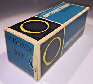 A-rare-US-made-Sylvania-DVY-bulb-120v-650w-boxed-amp-unused-from-1970s