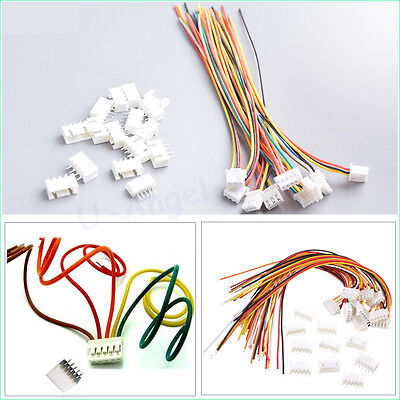 5Pairs 3.7V 1s Lipo Battery Male/&Female Plug Charging Cable RC Parts  TO