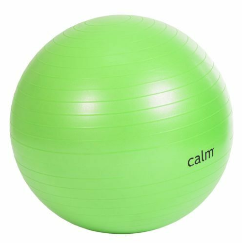 Calm 65 Cm Anti Burst Body Ball Pilates Exercise Fitness Training With Pump