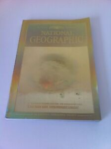 National-Geographic-Magazine-Dec-1988-3D-Cracked-Earth-Image-VGC-RARE