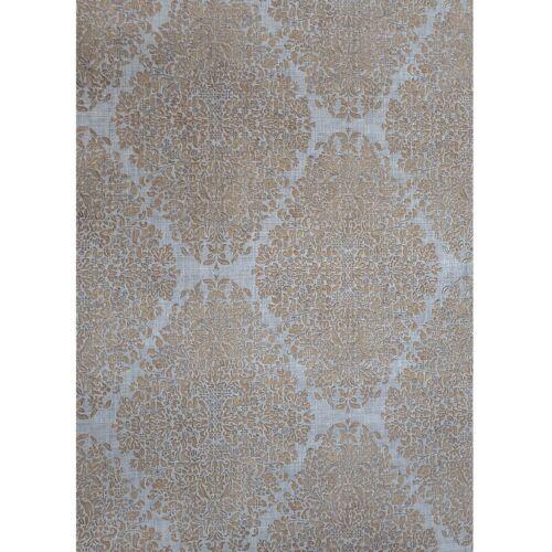 Vinyl Gray silver bronze metallic diamond damask faux fabric textured Wallpaper