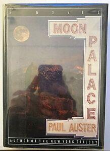 Paul Auster Moon Palace ©1989, HC 1st Edition, 1st Printing, VG+