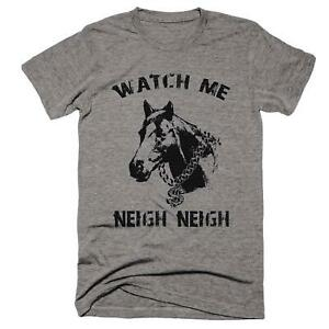 360c2f49 Neigh Neigh Horse T-Shirt, Funny Animal Shirts, Mens, Womens, Kids ...