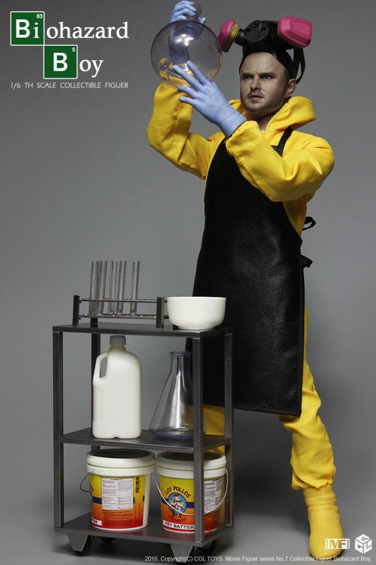 CGL Toys MF07 1 6 Scale Jesse Pinkman Pinkman Pinkman Breaking Bad Biohazard Boy Figure 6933df