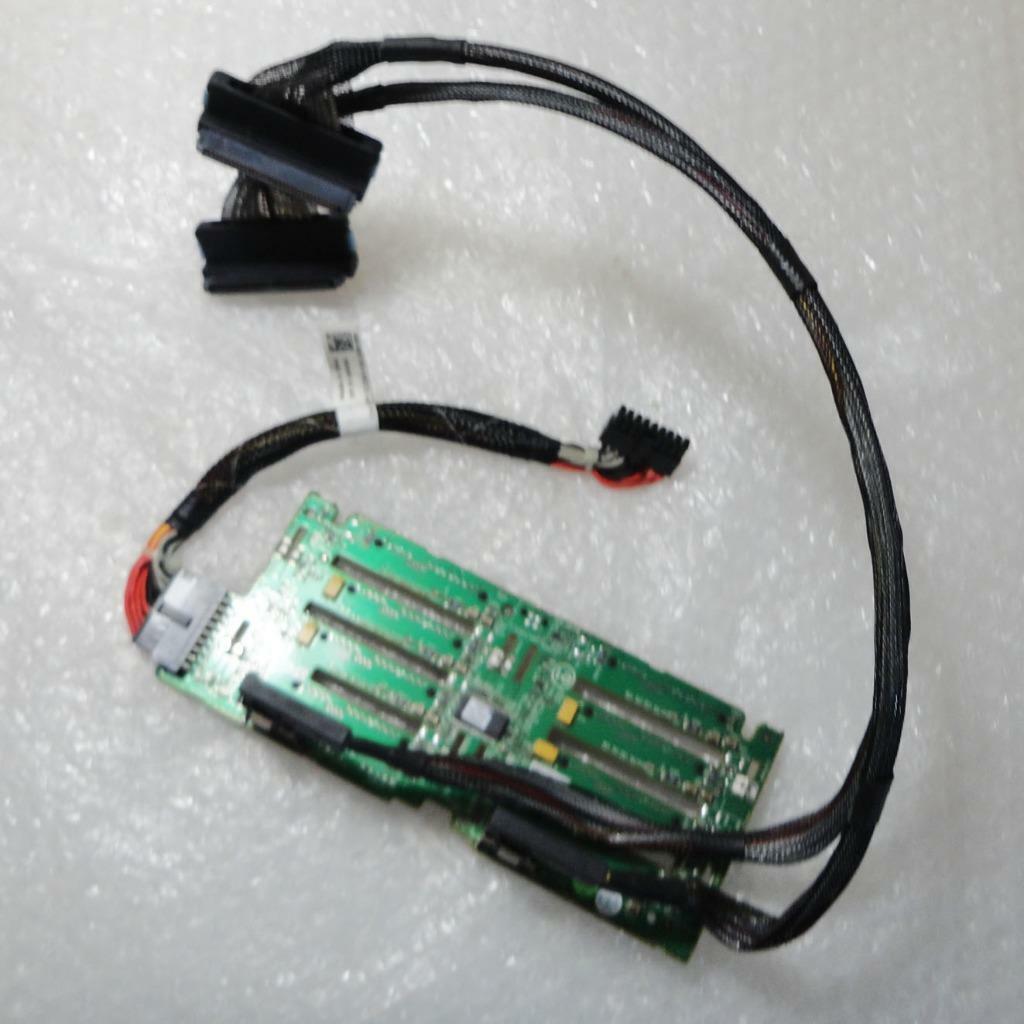 Dell poweredge r710 sas/sata hdd back plane board mx827 0mx827/
