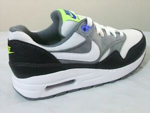 100% Wahr Nike Air Max 1 Boys Mens Shoes Trainers Uk Size 4 - 6 Av4153 002